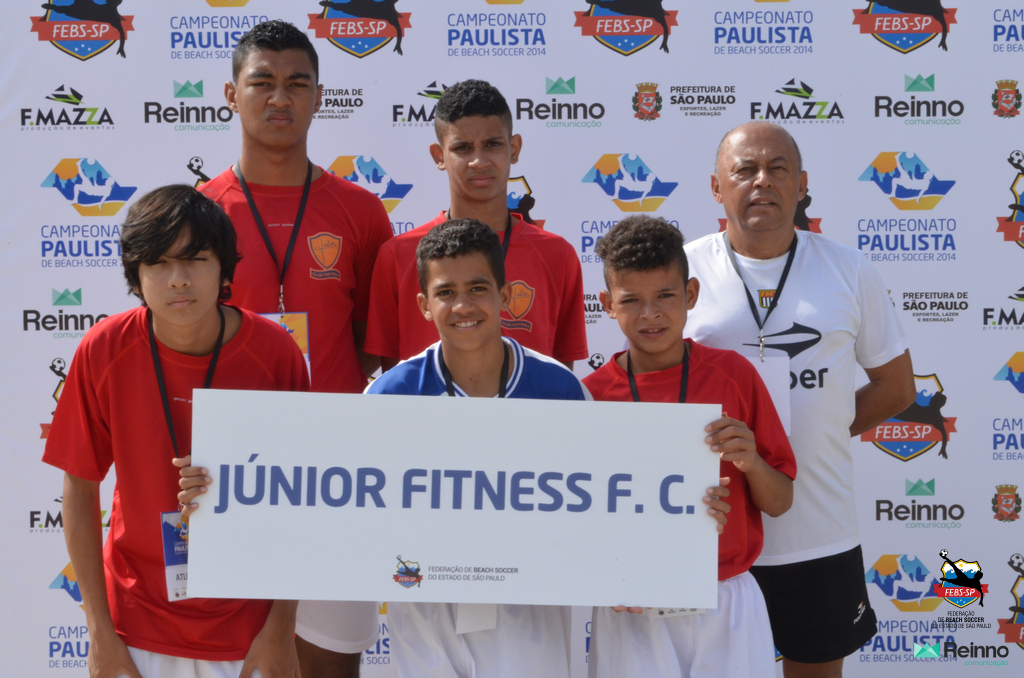 Equipe do Junior Fitness